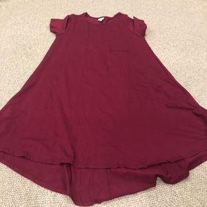 LuLaRoe Dresses - Lularoe Wine Carly